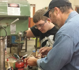 """New Members Working On Dale's """"Tom Sawyer"""" Project"""